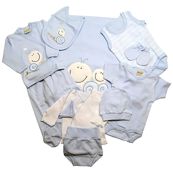 aad76a5f7c Brand NEW! BOX Set of 11 Pieces For Newborn Boy Boutique